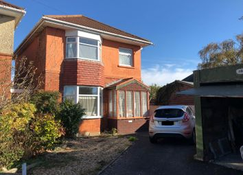 Thumbnail 3 bed detached house for sale in Rosebud Avenue, Bournemouth, Dorset