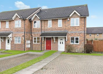 Thumbnail 2 bed end terrace house for sale in Norfolk Close, Horley, Surrey