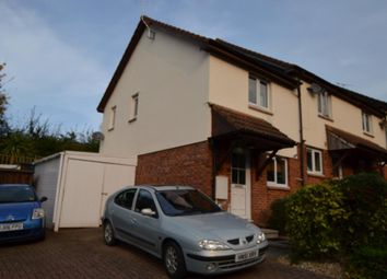 Thumbnail 2 bed semi-detached house for sale in Queen Elizabeth Drive, Crediton, Devon