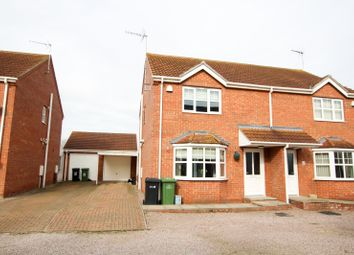 Thumbnail 3 bed semi-detached house for sale in Whetstone Way, Outwell, Wisbech