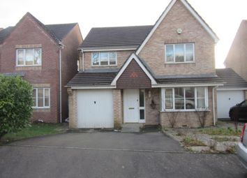 Thumbnail 4 bed detached house to rent in Sunnymead Close, Cockett, Swansea.