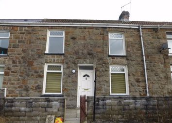 Thumbnail 2 bed terraced house to rent in Cardigan Terrace, Nantymoel, Bridgend