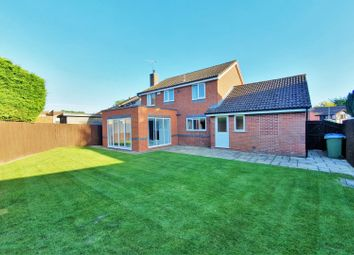 Thumbnail 4 bed detached house for sale in Chestnut Close, Broughton Astley, Leicester
