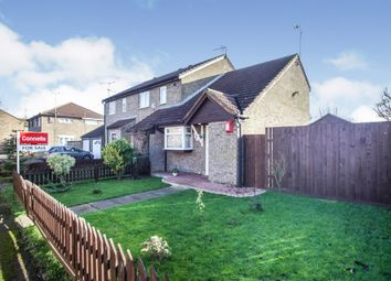 Thumbnail 1 bed end terrace house for sale in Conway Close, Houghton Regis, Dunstable