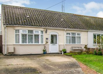 Thumbnail 2 bed semi-detached bungalow for sale in Whites Lane, Kessingland, Lowestoft