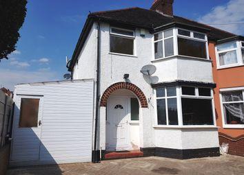 Thumbnail 3 bed semi-detached house for sale in Kenton Avenue, Whitmore Reans, Wolverhampton