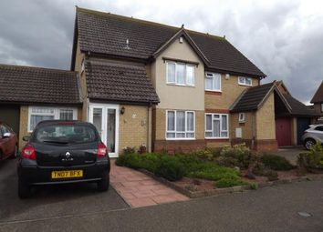 Thumbnail 3 bed semi-detached house for sale in Merlin Drive, Sandy, Bedfordshire