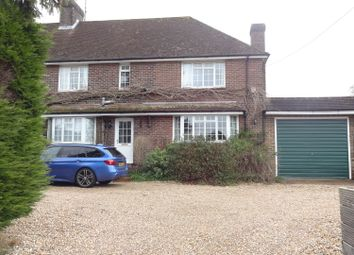 Thumbnail 4 bed detached house to rent in Mill Road, West Chiltington Pulborough