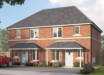 "Thumbnail 3 bed semi-detached house for sale in ""The Hamilton"" at Manston Lane, Crossgates"