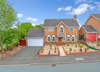 Thumbnail 4 bed detached house for sale in Shearman Road, Ludlow