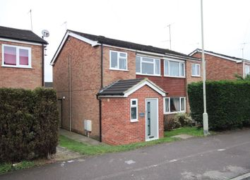 Thumbnail 3 bed semi-detached house for sale in Glebefields, Kiln Road, Newbury