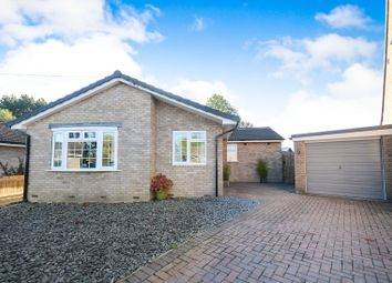 Thumbnail 2 bed detached bungalow for sale in Ash Walk, Strensall, York