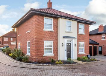 Thumbnail 4 bed detached house for sale in Farman Way, Blofield
