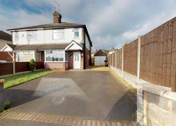 Thumbnail 3 bedroom semi-detached house for sale in Whitehouse Road, Newcastle-Under-Lyme