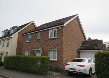 Thumbnail 4 bed detached house for sale in Allfrey Grove, Spencers Wood, Reading