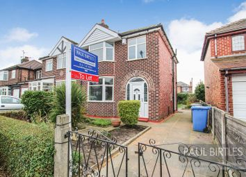Thumbnail 3 bed semi-detached house to rent in Franklyn Avenue, Flixton, Manchester