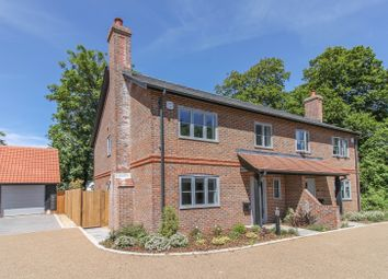 Thumbnail 4 bed semi-detached house for sale in Over Wallop, Stockbridge, Hampshire