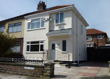 Thumbnail 3 bedroom semi-detached house for sale in Carr Road, Bootle, Liverpool