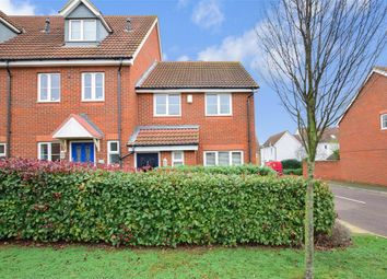Thumbnail 3 bed end terrace house for sale in Rivenhall Way, Hoo, Rochester, Kent
