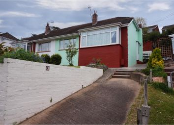 Thumbnail 2 bed semi-detached bungalow for sale in Luscombe Road, Paignton