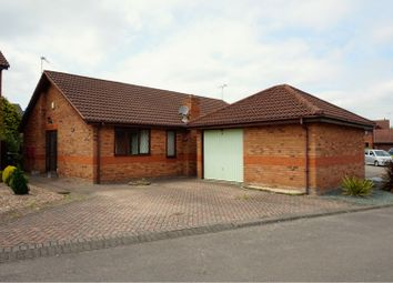 Thumbnail 3 bed detached bungalow for sale in Fairford Close, Doncaster