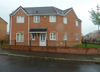 Thumbnail 3 bed semi-detached house to rent in Everside Drive, Manchester