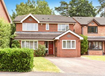 Thumbnail 4 bed detached house for sale in Lupin Ride, Crowthorne, Berkshire