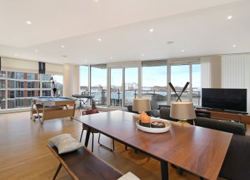 Thumbnail 3 bed flat to rent in Baltimore House, Battersea Reach, Juniper Drive, London. SW18, Battersea, Wandsworth, Putney