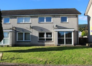 Thumbnail 3 bedroom semi-detached house for sale in Gare Road, Rosneath, Helensburgh, Argyll And Bute