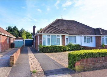 Thumbnail 2 bed semi-detached bungalow for sale in Langdale Avenue, Chichester