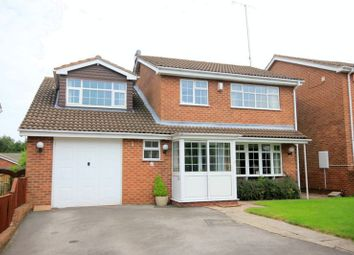 Thumbnail 4 bed detached house for sale in Kingfisher Crescent, Fulford, Stoke-On-Trent