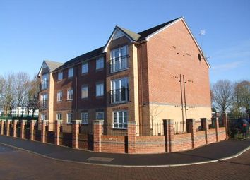 Thumbnail 2 bed flat to rent in Eton Court, Carriage Drive, Hartford