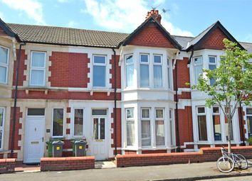 Thumbnail 3 bed terraced house to rent in Australia Road, Heath/Gabalfa, Cardiff