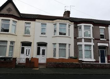Thumbnail 3 bed terraced house to rent in Albemarle Road, Wallasey