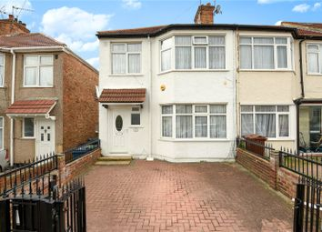 Thumbnail 3 bed semi-detached house for sale in Hill Road, Harrow, Middlesex