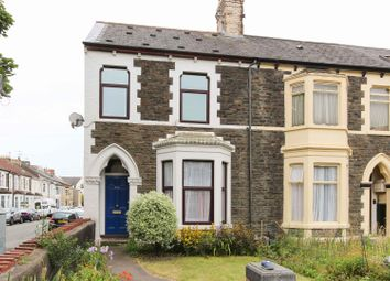 Thumbnail 4 bed end terrace house for sale in Cowbridge Road East, Canton, Cardiff