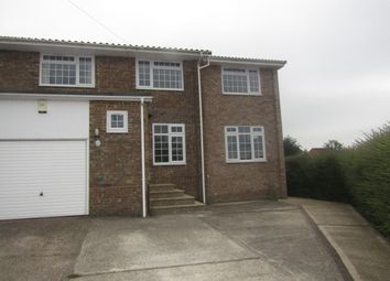 Thumbnail 4 bedroom semi-detached house to rent in Eperston Road, Waterlooville, Hampshire