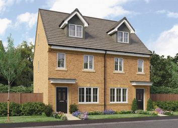 "Thumbnail 3 bedroom town house for sale in ""Tolkien"" at Ruby Lane, Mosborough, Sheffield"
