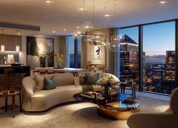 Thumbnail 2 bed flat for sale in Marsh Wall, Canary Wharf