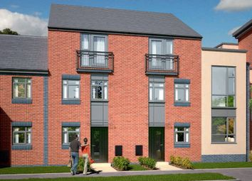 Thumbnail 4 bed town house for sale in The Dawlish - Plot 386, Johnsons Wharf, Leek Road, Hanley, Stoke On Trent