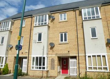 Thumbnail 3 bedroom town house to rent in Clayburn Road, Hampton Centre, Peterborough