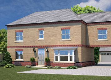 Thumbnail 5 bedroom link-detached house for sale in Plot 1, The Bramham, Elmete Lane, Leeds