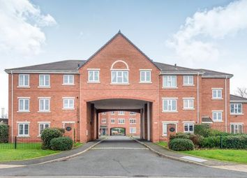 Thumbnail 2 bed flat for sale in Chalfont Court, Wolverhampton Road, Cannock, Staffordshire