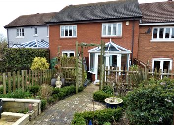 Thumbnail 2 bed terraced house for sale in Oakfield Road, Long Stratton, Norwich