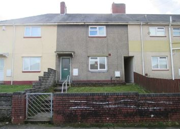 Thumbnail 3 bedroom terraced house for sale in Emlyn Road, Mayhill, Swansea, City & County Of Swansea.