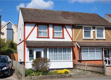 Thumbnail 2 bed semi-detached house for sale in Chipstead Valley Road, Coulsdon