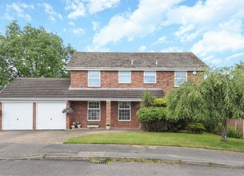 Thumbnail 4 bed detached house for sale in Corfield Close, Finchampstead, Berkshire