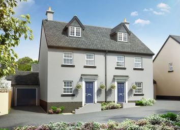 """Thumbnail 4 bed semi-detached house for sale in """"The Aslin"""" at The Rocklands, Chudleigh, Newton Abbot"""
