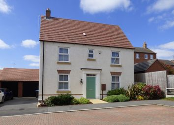 Thumbnail 3 bed detached house for sale in Dairy Way, Kibworth Harcourt, Leicester