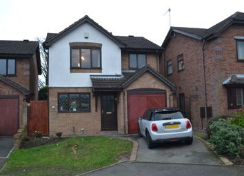 Thumbnail 3 bed detached house for sale in Jasper Close, Newcastle-Under-Lyme
